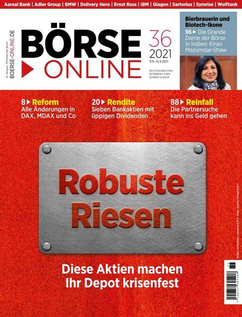 Börse Online Ausgabe 36/2021