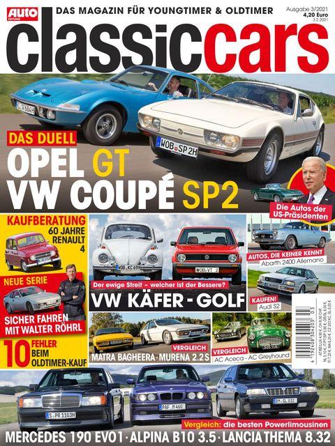 AUTO ZEITUNG classic cars Ausgabe 3/2021