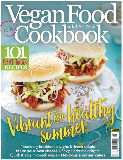 The Vegan Cookbook issue 05, Vibrant And Healthy Summer