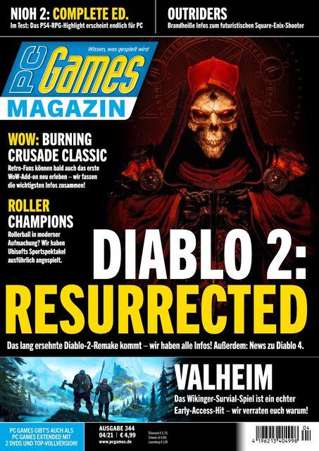 PC Games Ausgabe 04/2021