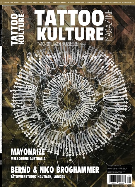 Tattoo Kulture Magazine #36