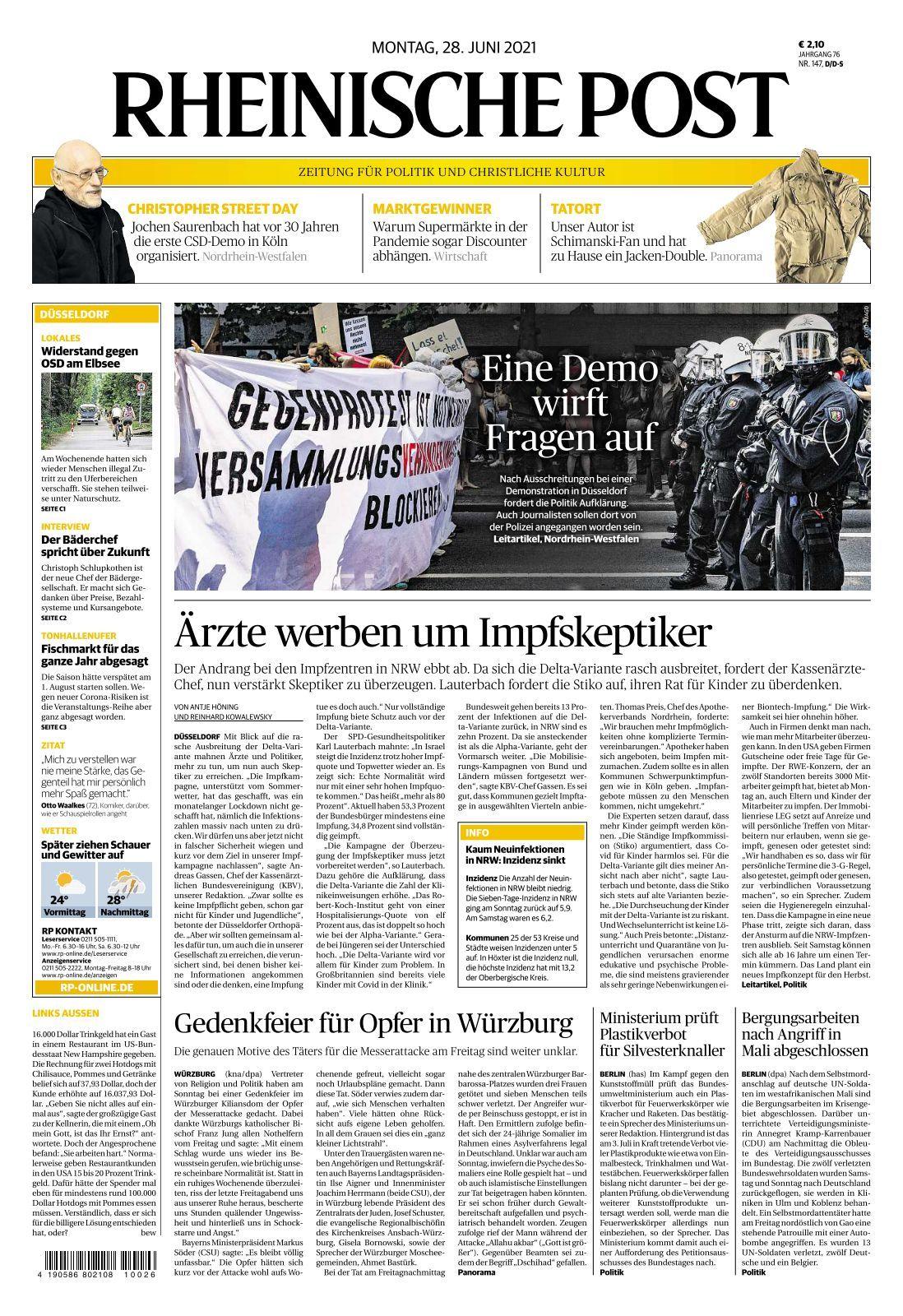 Rheinische Post   8 8 8