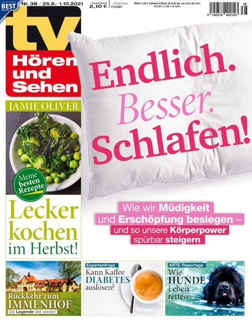 TV Hören und Sehen Ausgabe 38/2021
