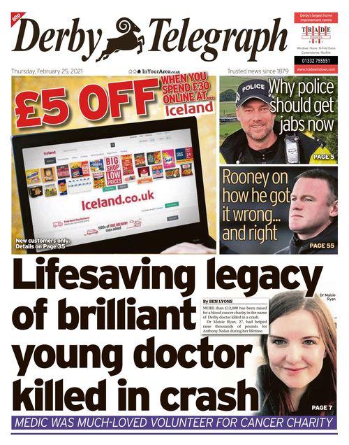 Derby Telegraph 2021-02-25