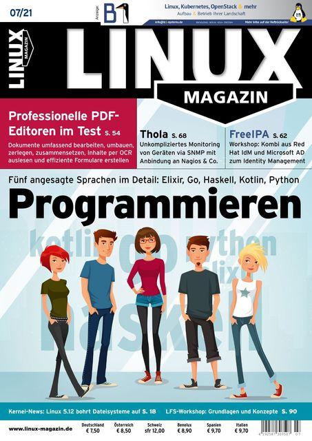 Linux Magazin Ausgabe 07/2021