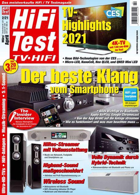 HiFi Test TV • HiFi Ausgabe 02/2021