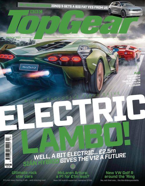 BBC Top Gear Magazine issue 03/2021