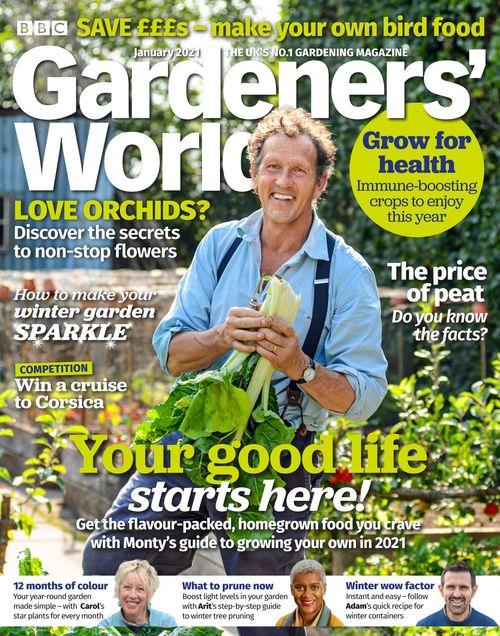 BBC Gardeners' World issue 01/2021