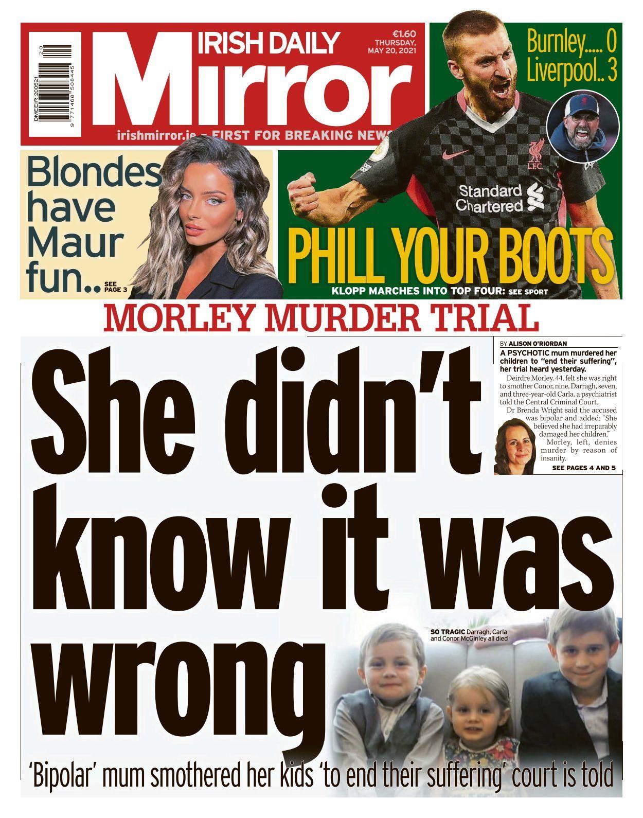 25 Irish Daily Mirror   10 10 10