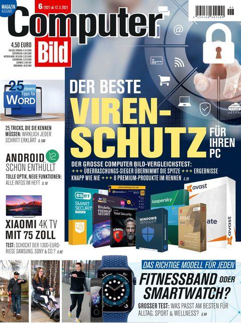 COMPUTER BILD Ausgabe 06/2021