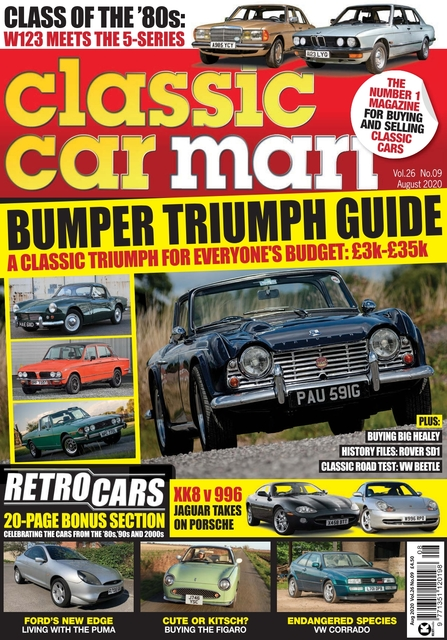 Classic Car Mart issue 08/2020