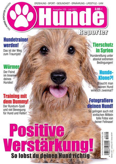 Hundereporter Ausgabe Nr. 109