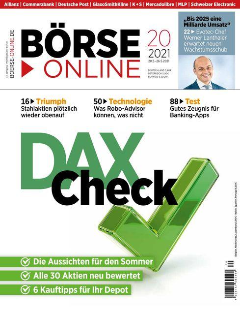 Börse Online Ausgabe 20/2021