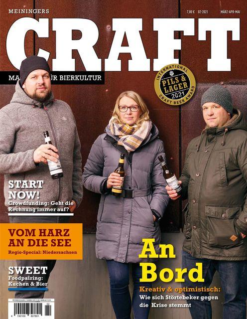 Meiningers Craft - Magazin für Bierkultur Ausgabe 02/2021