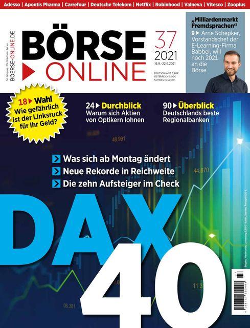 Börse Online Ausgabe 37/2021