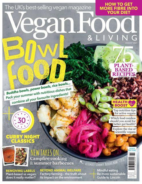 Vegan Food & Living issue 08/2021 - Bowl Food