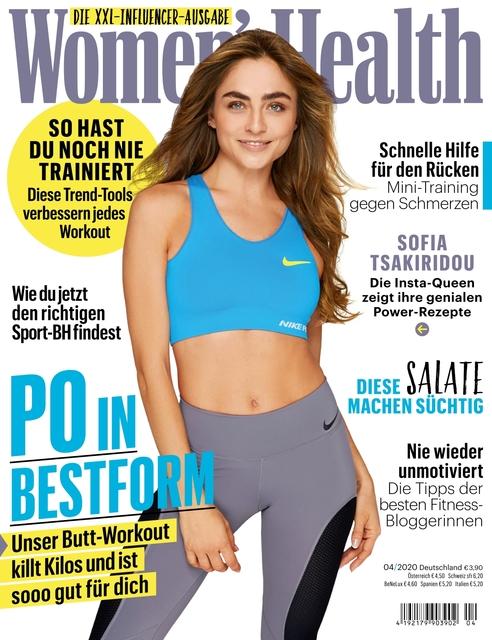 WOMEN'S HEALTH Ausgabe 04/2020