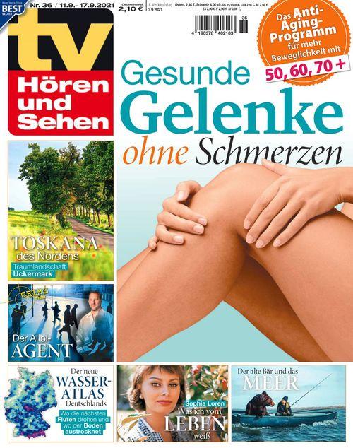 TV Hören und Sehen Ausgabe 36/2021