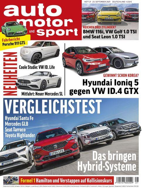 Auto Motor und Sport 2021-09-22