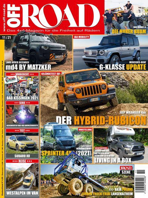 OFF ROAD – Das 4x4-Magazin für die Freiheit auf Rädern Ausgabe 11/2021