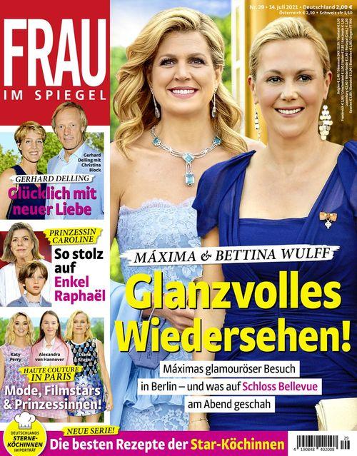 Frau im Spiegel 2021-07-14