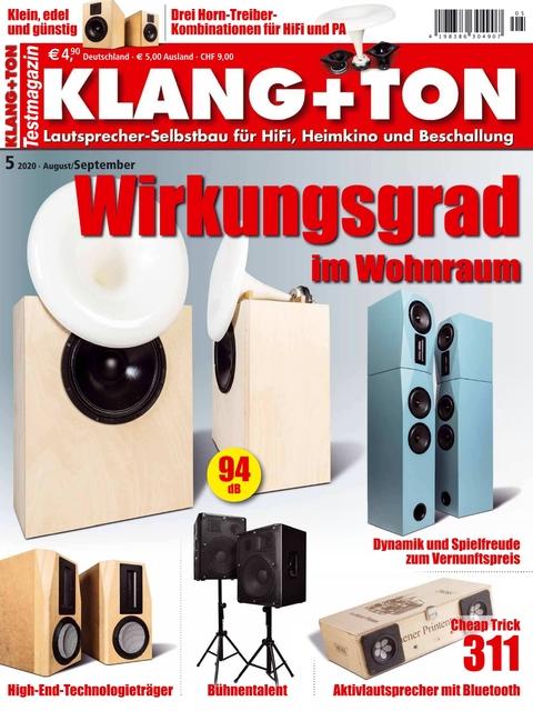 KLANG+TON Ausgabe 05/2020