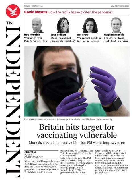 The Independent 2021-02-15