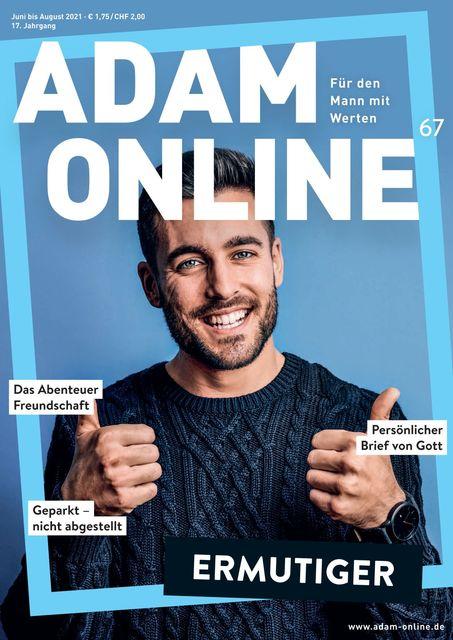 Adam online Magazin Nr. 67