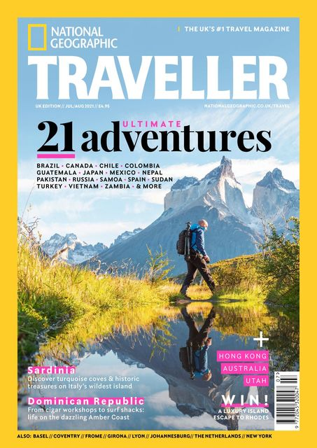 National Geographic Traveller (UK) issue #94, 07/2021