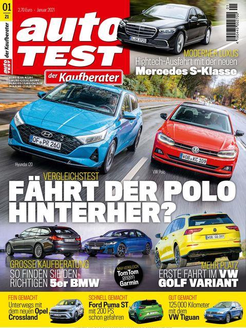 AUTO TEST Ausgabe 01/2021