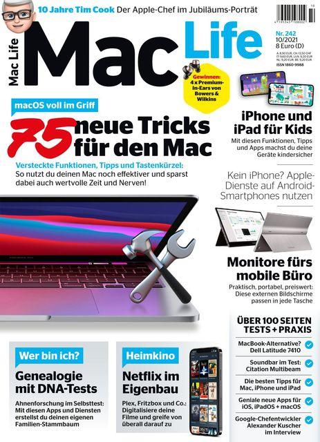 Mac Life Ausgabe 10/2021