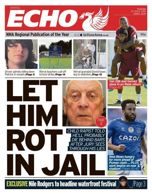 Liverpool Echo 2021-07-27