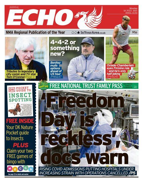 Liverpool Echo 2021-07-19