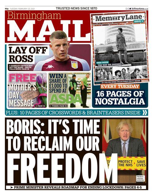 Birmingham Mail 2021-02-23