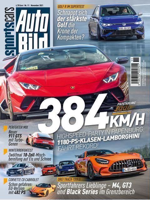 AUTO BILD Sportscars 2021-10-14
