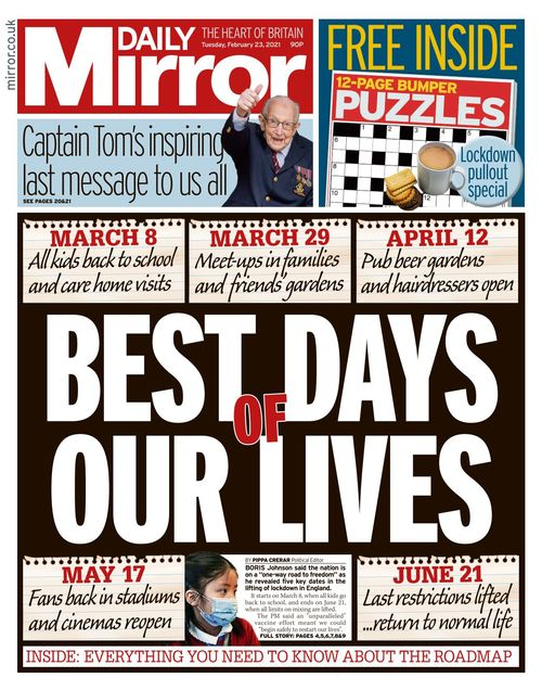 Daily Mirror 2021-02-23