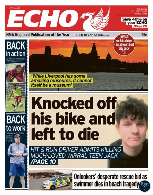 Liverpool Echo 2021-07-22