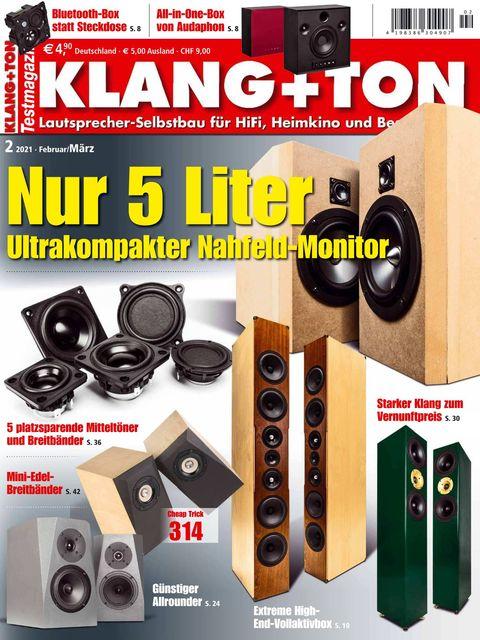 KLANG+TON Ausgabe 02/2021