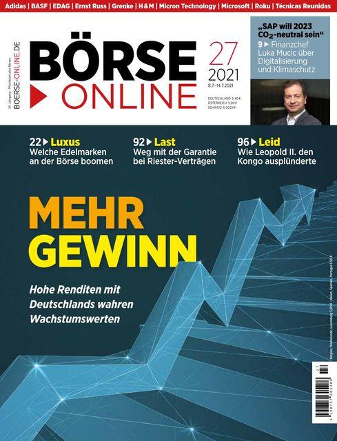 Börse Online Ausgabe 27/2021