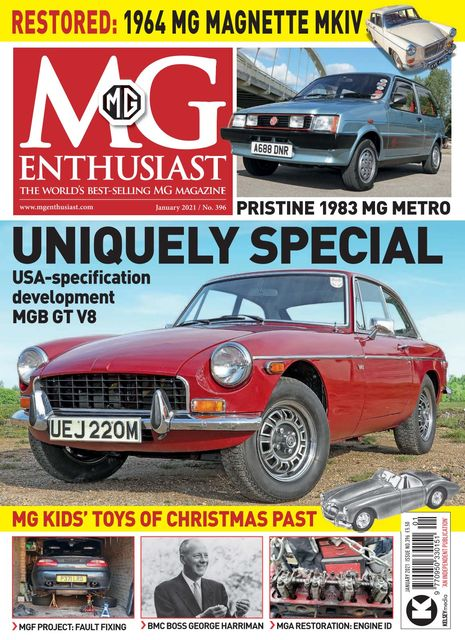 MG Enthusiast issue 01/2021