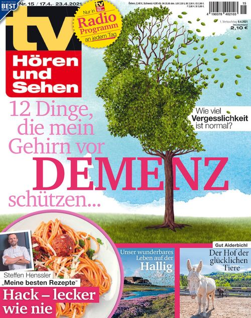 TV Hören und Sehen Ausgabe 15/2021