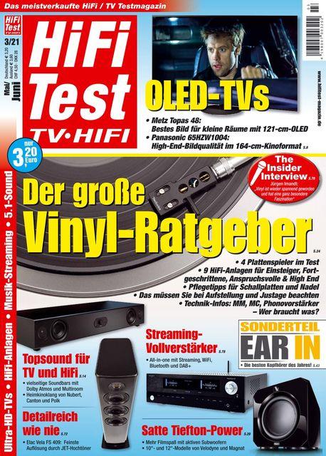 HiFi Test TV • HiFi Ausgabe 03/2021