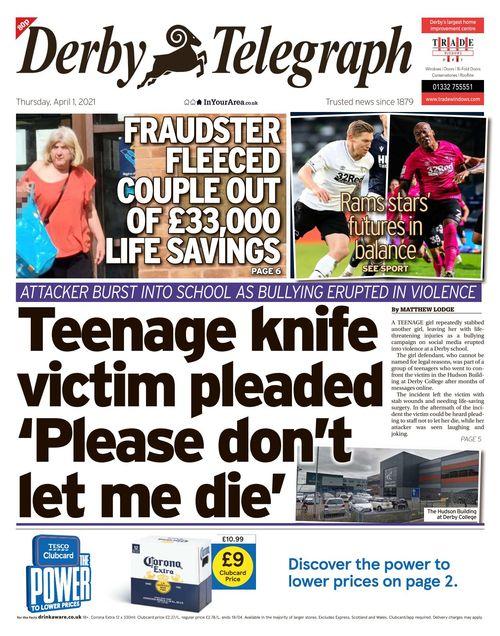 Derby Telegraph 2021-04-01