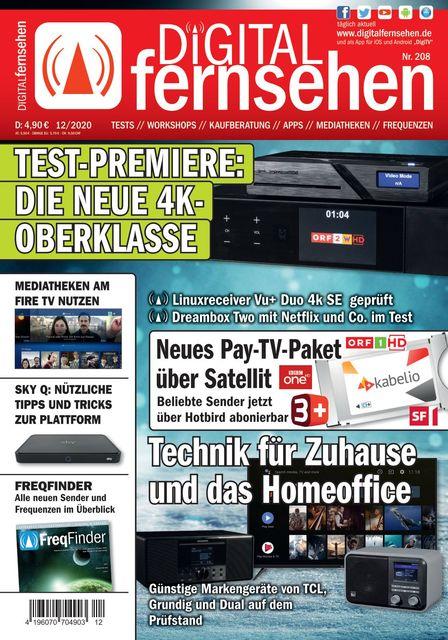 DIGITAL FERNSEHEN Ausgabe 12/2020