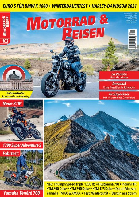 Motorrad & Reisen Ausgabe 103