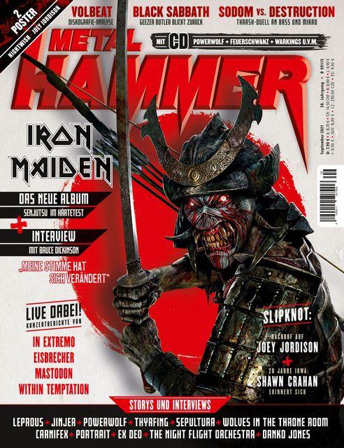 METAL HAMMER Deutschland Ausgabe 09/2021