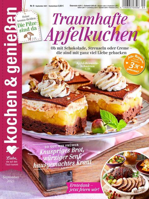 Kochen und Genießen Ausgabe 9/2021
