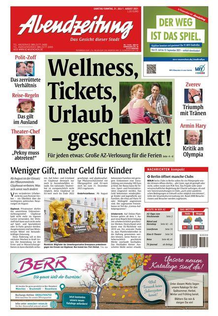 Abend Zeitung 2021-07-31