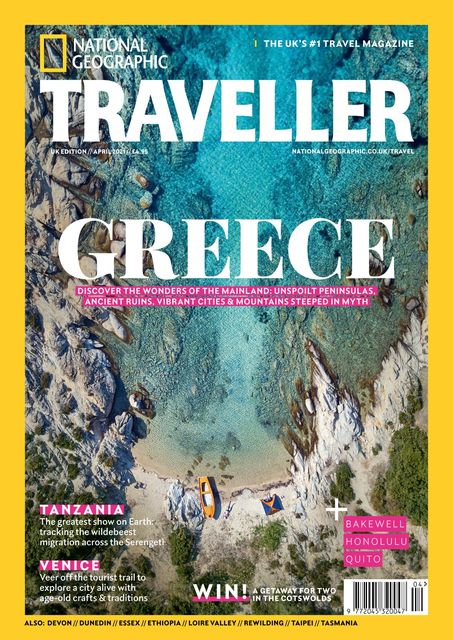 National Geographic Traveller (UK) issue #91, 04/2021