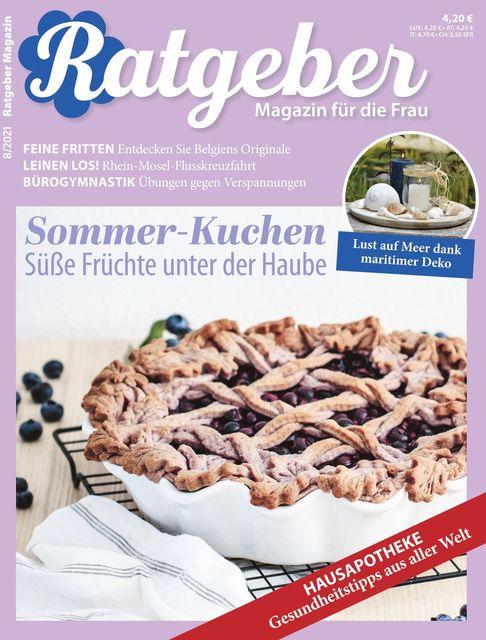 RATGEBER Magazin Ausgabe 08/2021